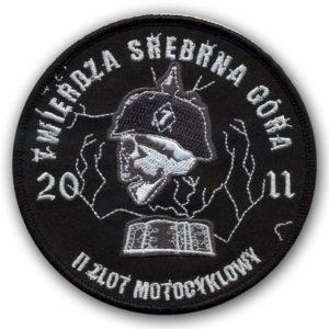 Naszywka Motocyklowa na zlot Srebrna Góra 2011