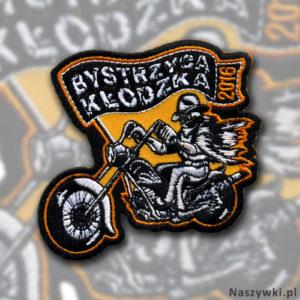 Naszywka Zlot Motocyklowy Bystrzyca Kłodzka 2016
