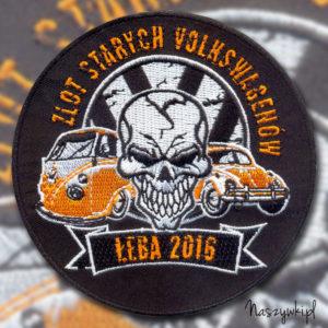 Naszywka Zlot Starych VW Łeba 2016