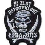 Naszywka Motocyklowa na zlot motocyklowy w Łebie 2013