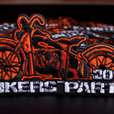 Haft Komputerowy na Bikers Party 2014