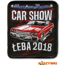 Naszywki na American Dream Car Show i Garbusy w Łebie