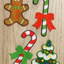 Popularne naszywki świąteczne do każdego zamówienia